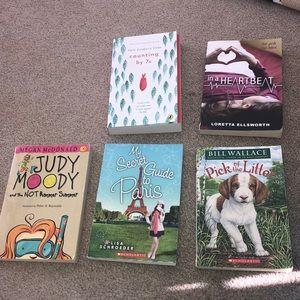 5 Middle Grade Books Bundle